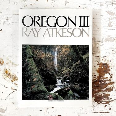 Oregon III by Ray Atkeson and Richard Ross - Photography Art Coffee Table Book/Bohemian Home Decor by CollectedATX