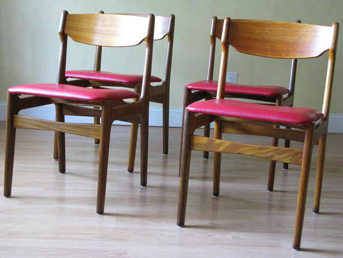 Set of Four Findahls Mobelfabrik Danish Dining Chairs by ASISisNOTgoodENOUGH