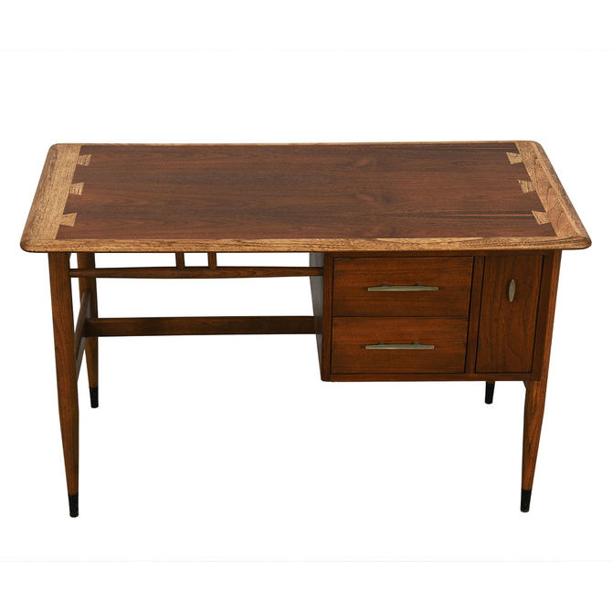 Compact Lane Acclaim Mid Century Desk W Vertical File