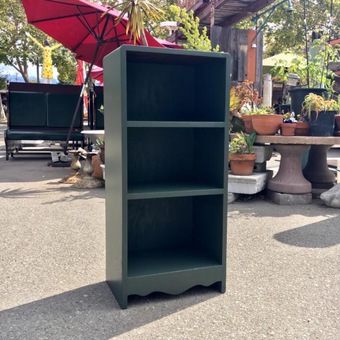 Small Green Bookcase