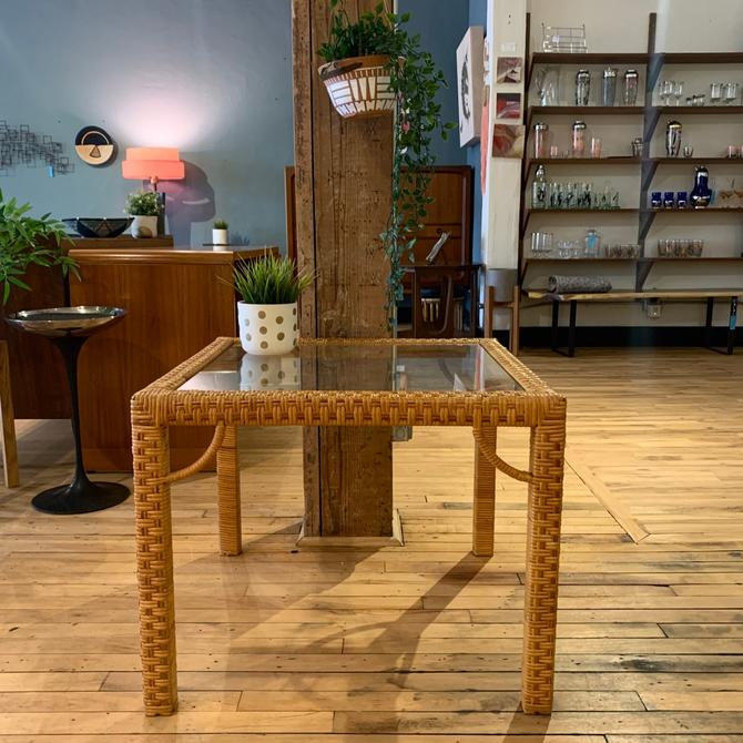 Square Rattan Coffee / Side Table