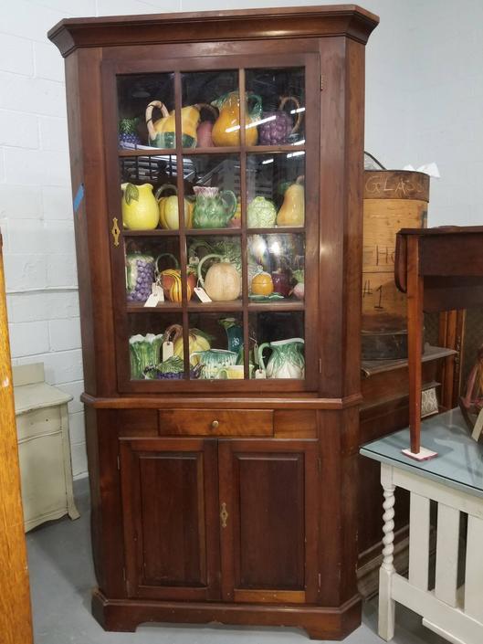Cherry Corner Cabinet - Suzanne