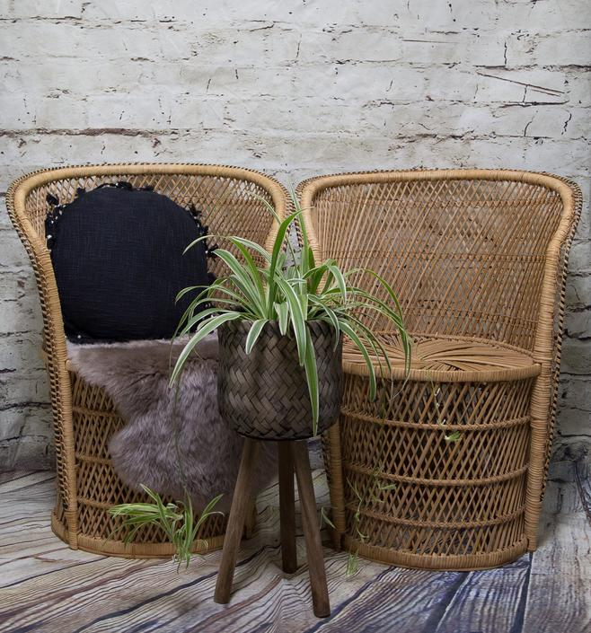 SHIPPING NOT FREE! Set of 2 Peacock Chairs/Wicker Accent Chairs/ Barrel Wicker Chairs/ Dining Room Chairs by WorldofWicker