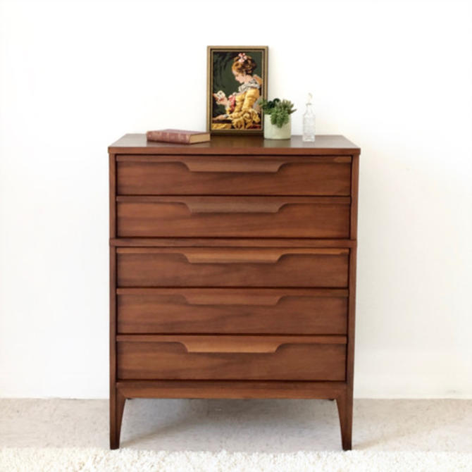 Vintage Highboy Dresser Chest of Drawers Restored