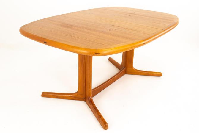 Dyrlund Mid Century Hidden Leaf Teak Dining Table - mcm by ModernHill