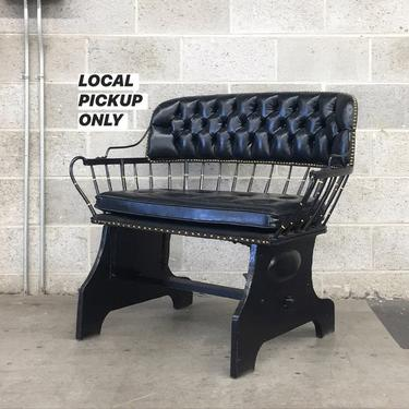 LOCAL PICKUP ONLY ———— Vintage Bench by RetrospectVintage215