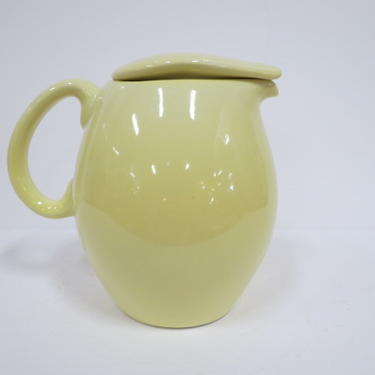 """Vintage MCM Russel Wright 7"""" covered pitcher"""