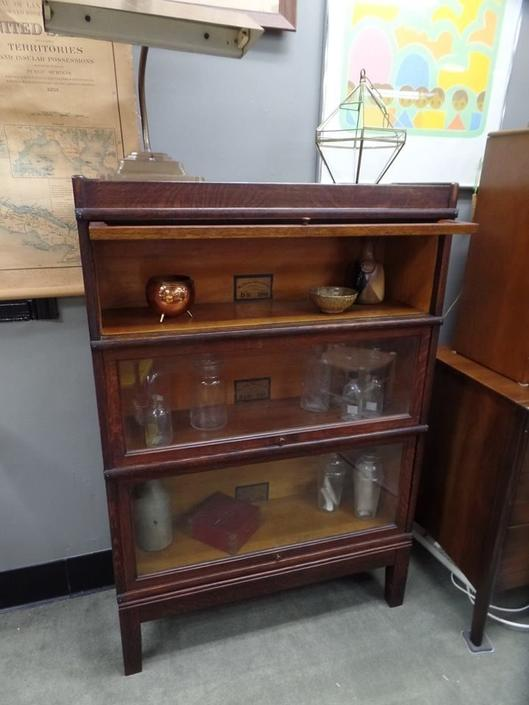 Vintage barrister bookcase by Globe-Wernike