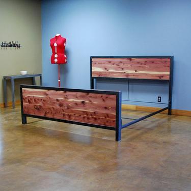 Kraftig Bed Number 4 with Tennessee Cedar by deliafurniture