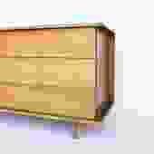Solid Mahogany Dresser by Manuel Martin
