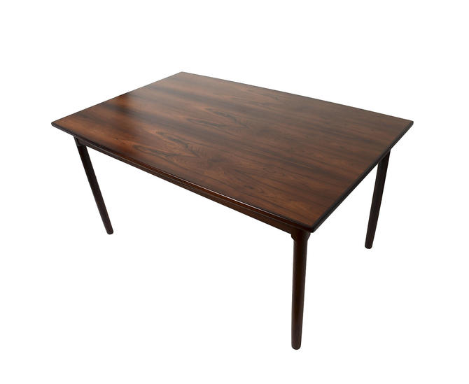 Rosewood Dining Table Randers Møbelfabrik Dutch Leaves Surf Board Top Danish Modern by HearthsideHome