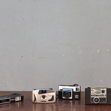 Set of 4 Retro Cameras