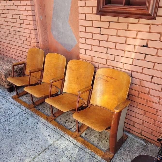 Row of Brunswick Theater Seats,