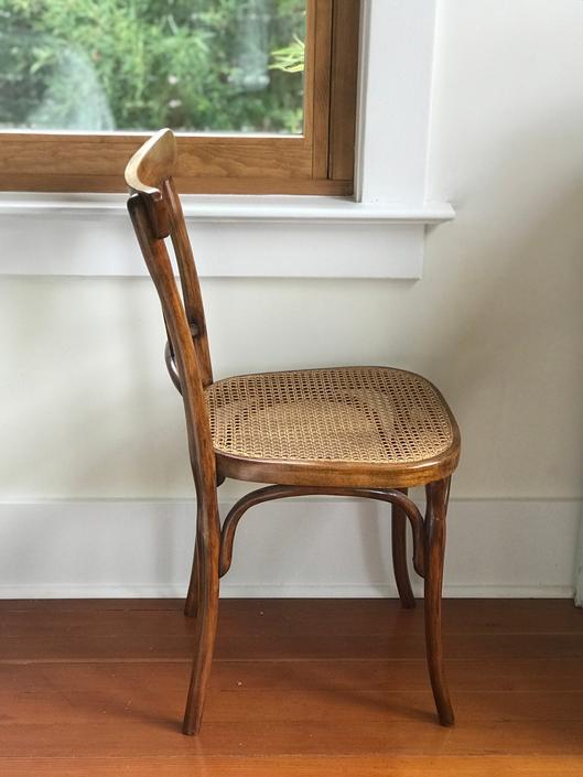 Beautiful vintage Austria Kohn cane chair by Grainsacfrenchvintag