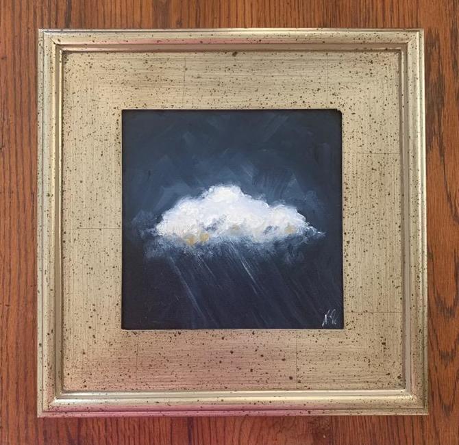 Original cloud painting