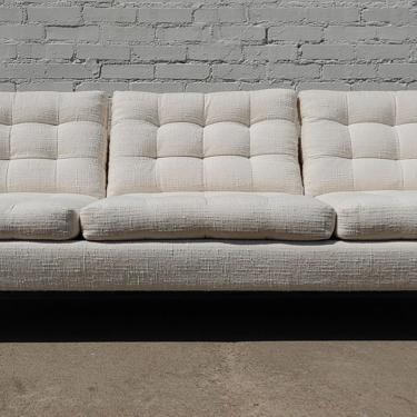 Mid Century Danish Modern Tufted Sofa by VintageVaultTulsa