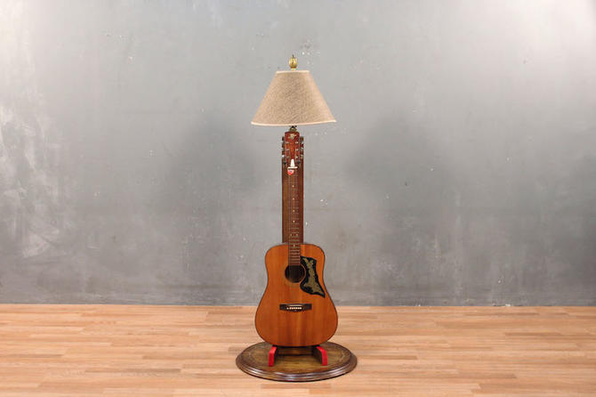 Guitar Stand Floor Lamp – ONLINE ONLY