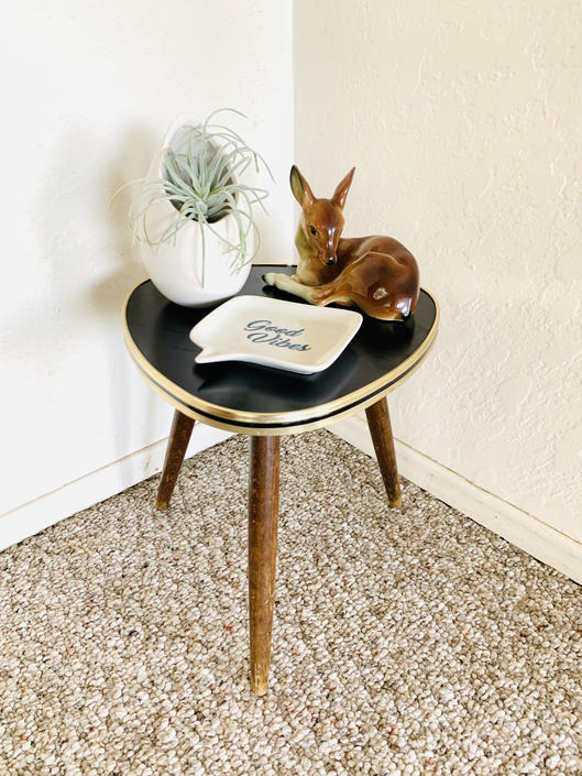 50s Formica Side Table by dadacat
