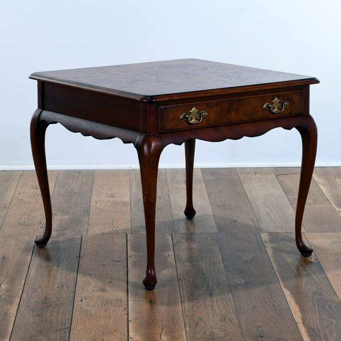 Superior Queen Anne Style End Table