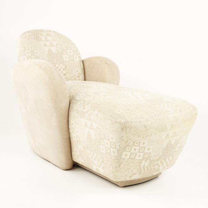 Michael Wolk for Weiman Preview Furniture Mid Century Miami Chaise Lounge Chair - mcm by ModernHill