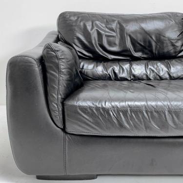 Italian Leather Loveseat by BetsuStudio