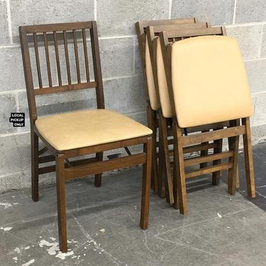 LOCAL PICKUP ONLY ———— Vintage Stakmore Folding Chairs by RetrospectVintage215