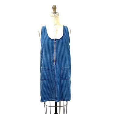 90s denim mini dress by harlowandspring