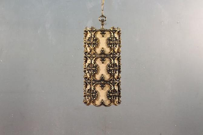 Ornate Regency Lantern Swag Lamp