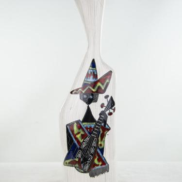 Cemas Mid-Century Italian Abstract Ceramic Vase by BluffStProps