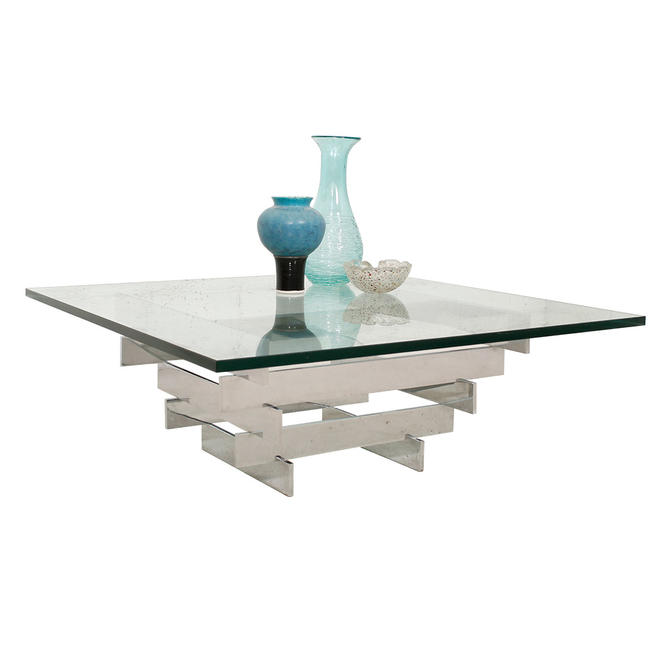 ... for Habitat Chrome and Glass Coffee Table from Modern Mobler  ATTIC