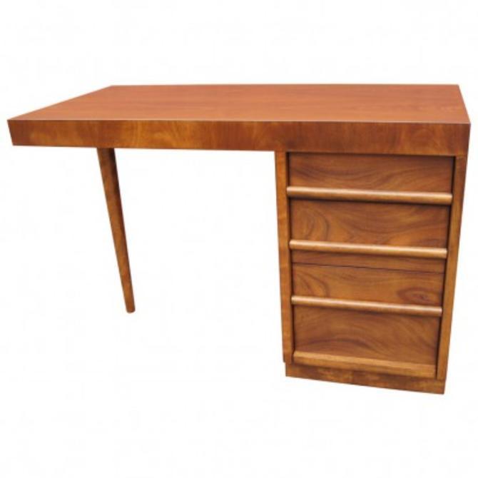 Walnut Desk by T.H. Robsjohn-Gibbings for Widdicomb