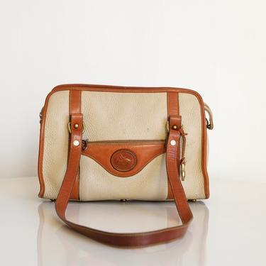 Vintage Dooney & Bourke All Weather Leather Shoulder Bag by circlethesquare