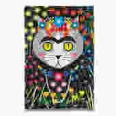 Frida Catlo Cat Tea Towel