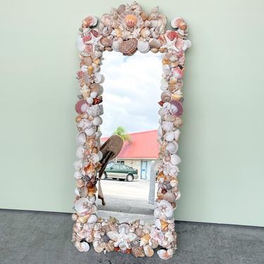 Bahamian Shellegance Mirror