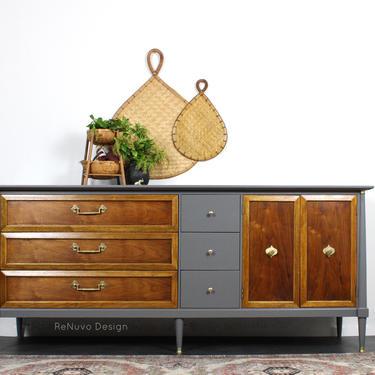 SOLD!    Mid Century Credenza Dresser by ReNuvoDesign