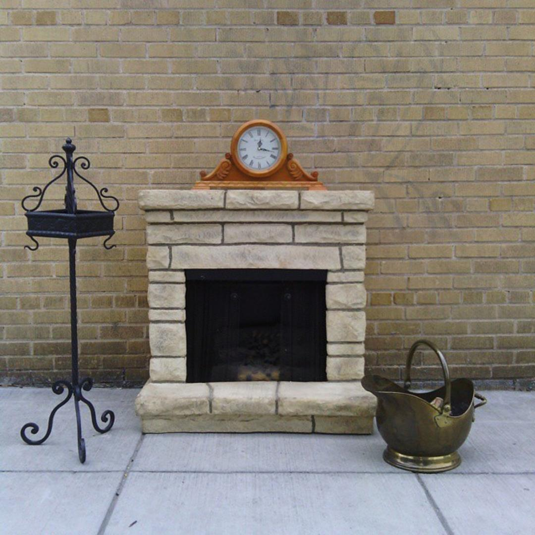 Faux Stone Electric Heater Fire Place From Bentley 39 S Vintage Furniture Attic