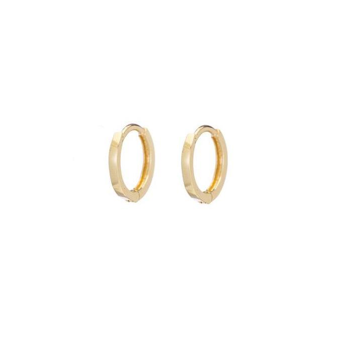 Petite Hoops - Yellow Gold