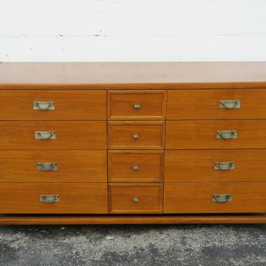 Mid Century Modern Dresser TV Media Console by Hickory 2424