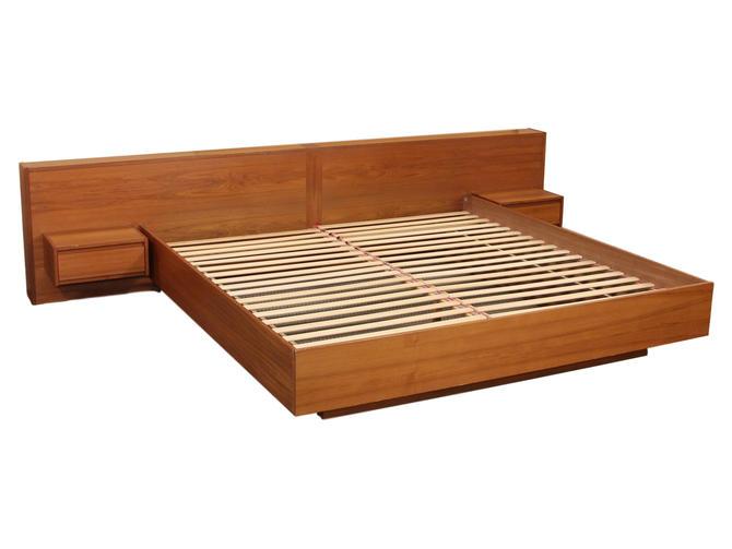 Danish Teak California King Size Platform Bed By Sannemann by RetroPassion21
