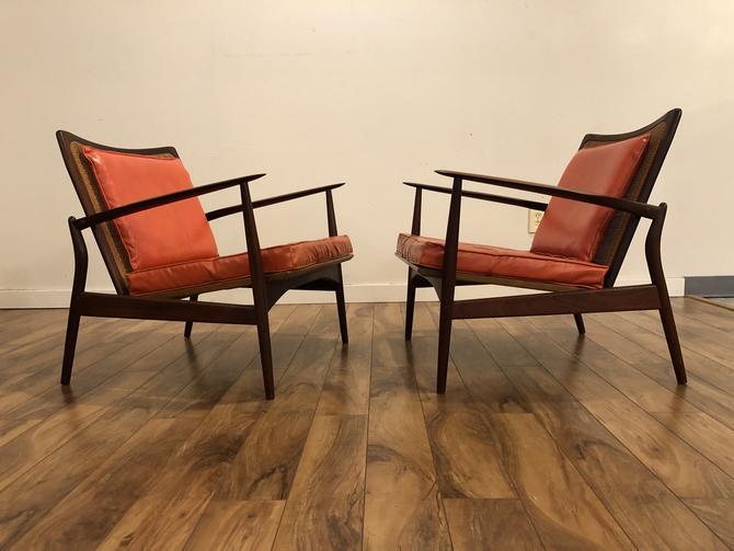 Kofod Larsen Spear Chairs Pair