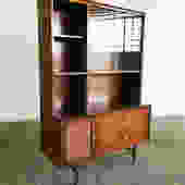 Mid Century Walnut Bookcase/Shelves by Harmony Hou
