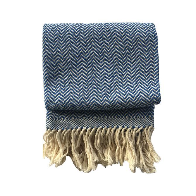 DANELIA | Blanket & Throw | Royal Blue