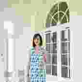 Sheath Dress in Blue Floral (Regular & Tall)