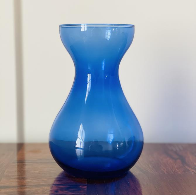 Vintage Glass Bulb Forcer, Cobalt