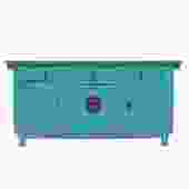 Chinese Distressed Rustic Blue Sideboard Buffet Table Cabinet cs5145S