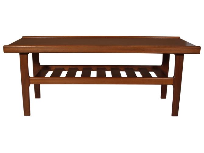 Mid Century Teak Coffee Table by RetroPassion21