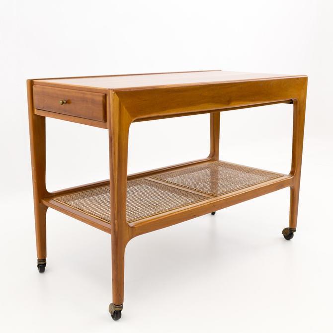 Paul McCobb Style Mid Century Modern Bar Cart - mcm by ModernHill
