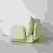 1970s Gae Aulenti Italian Cashmere Pillow Chair