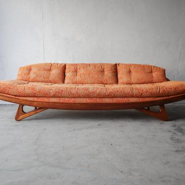 Mid Century Gondola Sofa by Adrian Pearsall for Craft Associates by AgedModern