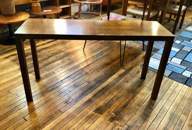 Mid Century Lane Parsons Style Console Table 1970's